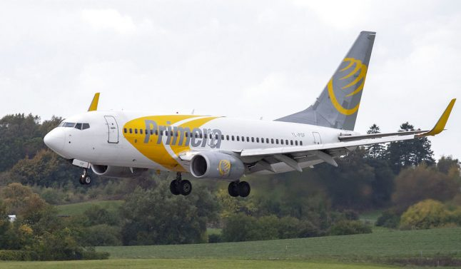 Danish low-cost airline Primera folds wings