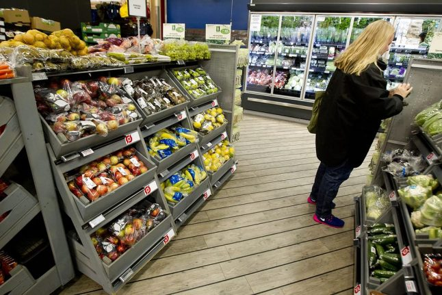 Denmark to label food according to effect on climate
