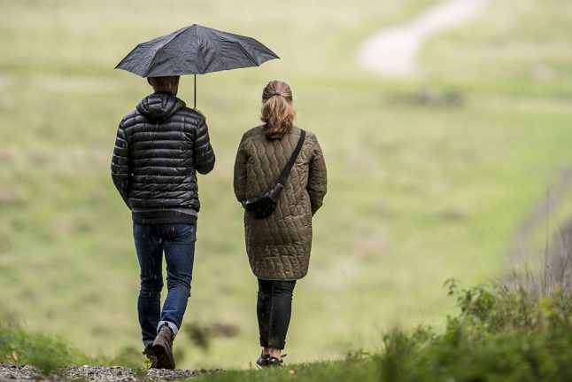 Autumnal week with windy days for Denmark