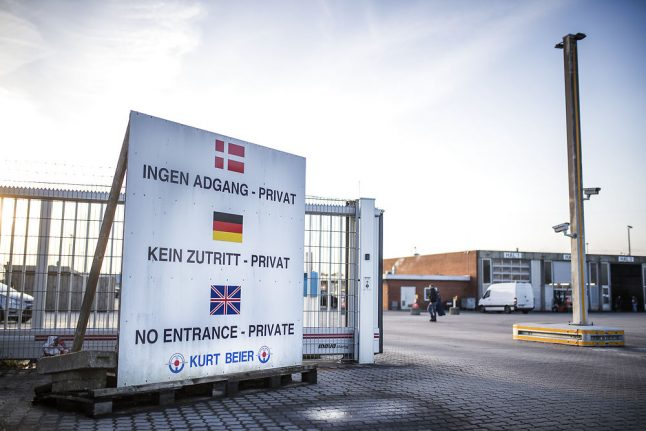 Danish transport firm admits to poor conditions for foreign drivers