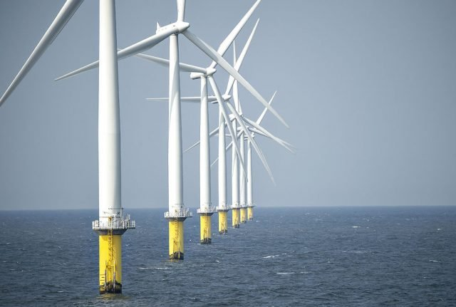 Denmark reserves waters for construction of wind power farms