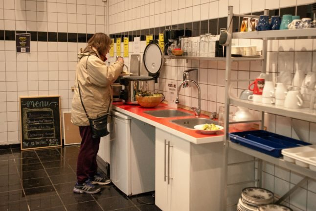 Copenhagen community kitchen highlights food insecurity with crowdfunding project