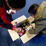 Danish charity hands out record number of food boxes