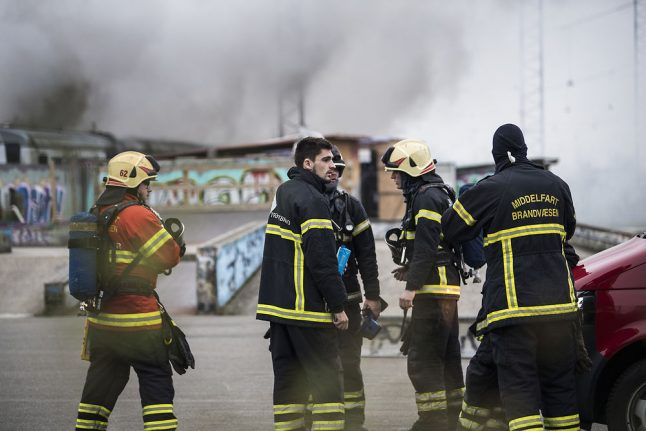 Teenagers confess to arson after Danish train carriage fire