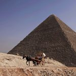 Egyptians arrested for helping Danish couple who climbed pyramid and posed naked