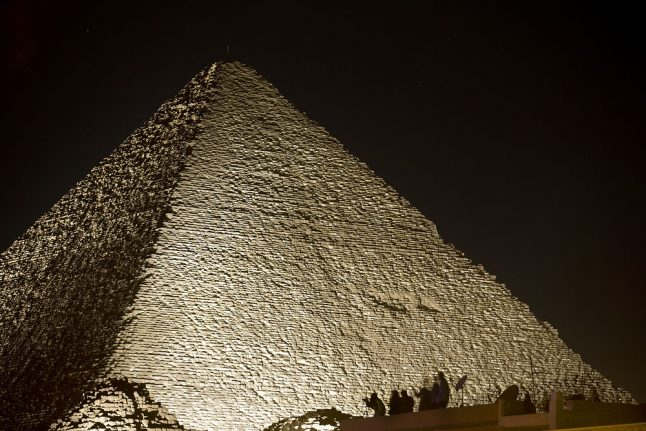 Two Danes climbed a pyramid. Why is Egypt mad?