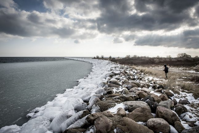 Strong winds and frosty mornings this weekend in Denmark