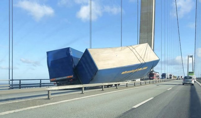 Denmark's Great Belt Bridge closed for four hours after accident