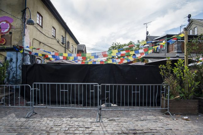 Danish law enforcement increases pressure on Christiania cannabis trade