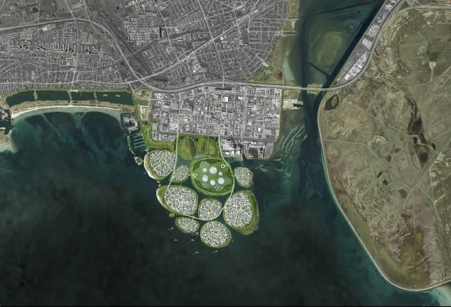 Denmark plans man-made islands to draw business