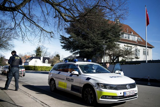 Denmark to deport four for attack on Turkish embassy