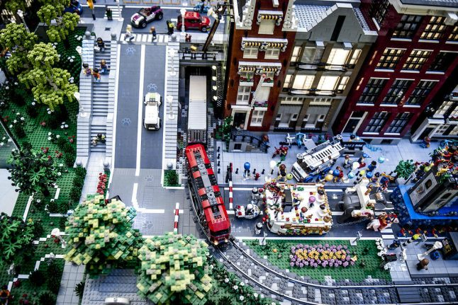 Lego stacks up profits after building away from bricks