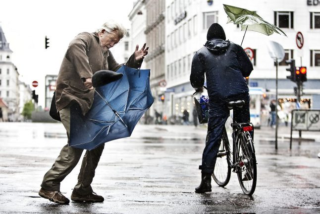 Rainy Danish weather to continue this week
