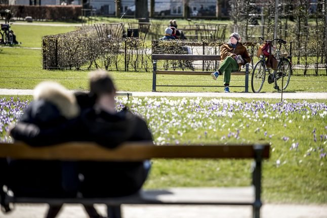 Spring weather to reach Denmark this week with 15 degrees forecast