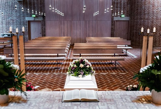 Number of secular funerals in Denmark increases