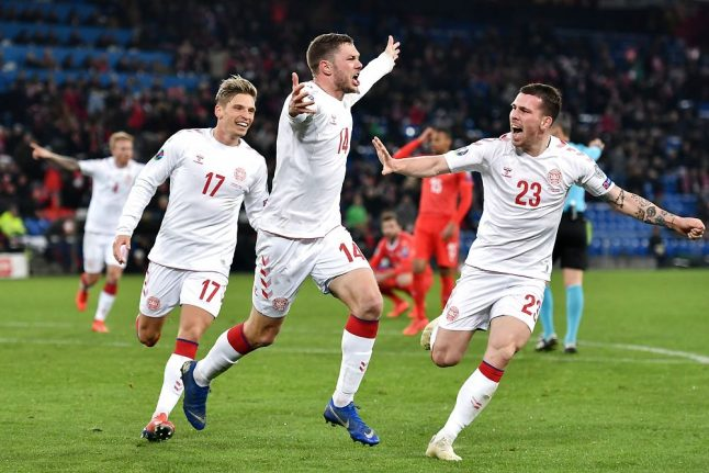 Denmark draw first Euro 2020 qualification match after amazing comeback