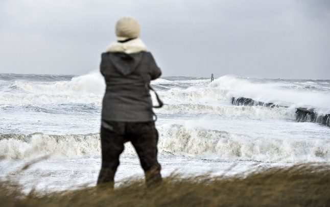 Stay indoors: blustery weekend forecast in Denmark