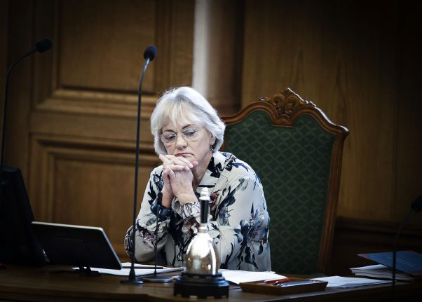 Danish parliament deputy disagrees with speaker over babies in chamber