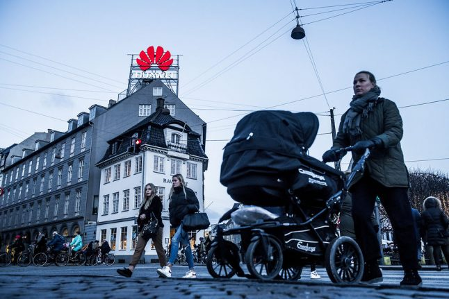 Denmark's TDC shuns China's Huawei for 5G rollout
