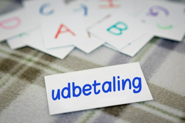 Danish Word of the Day: udbetaling