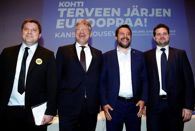 Danish People's Party joins right-wing nationalist alliance in EU parliament