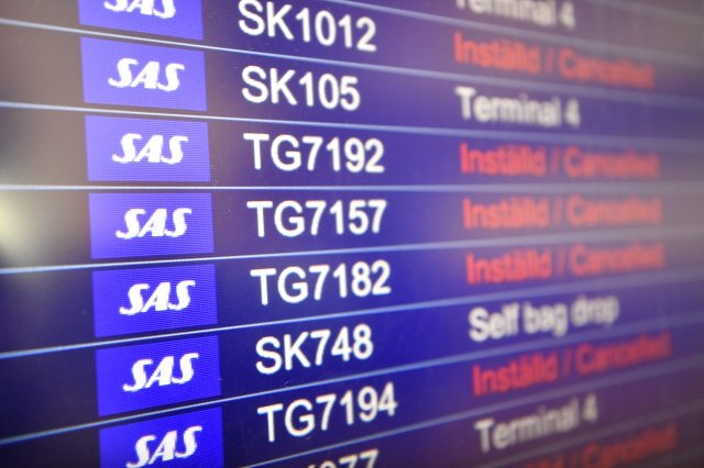 SAS strike: Thousands of passengers to be hit by weekend flight cancellations