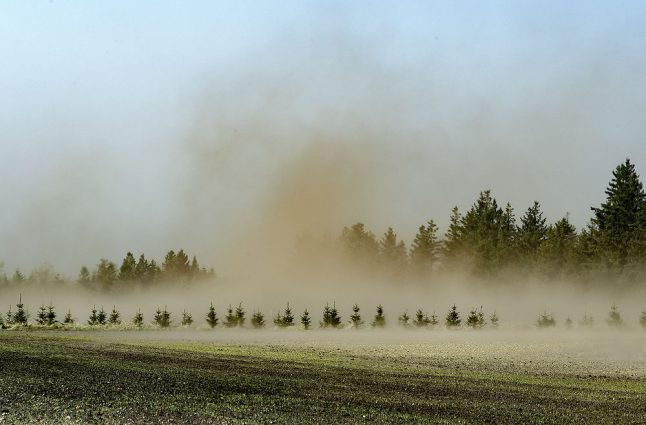 Denmark risks new summer drought after unusually dry April