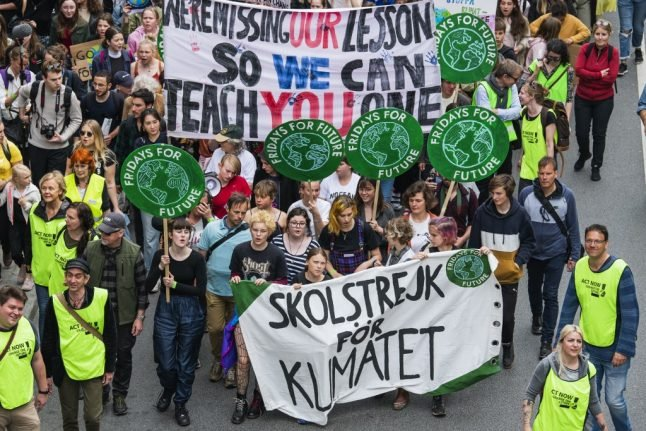 Youths rally across Europe in pre-vote climate protest