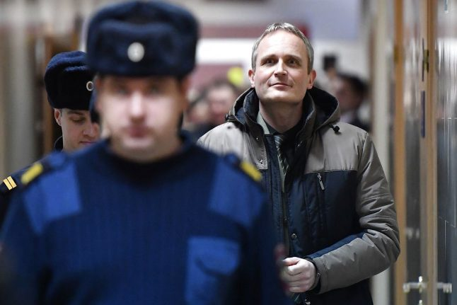 Russia upholds jail sentence for Danish Jehovah's Witness