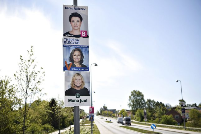 General election: Danish Social Liberals, Conservatives hit highs in poll