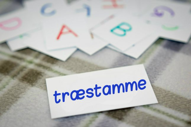 Danish Word of the Day: træstamme