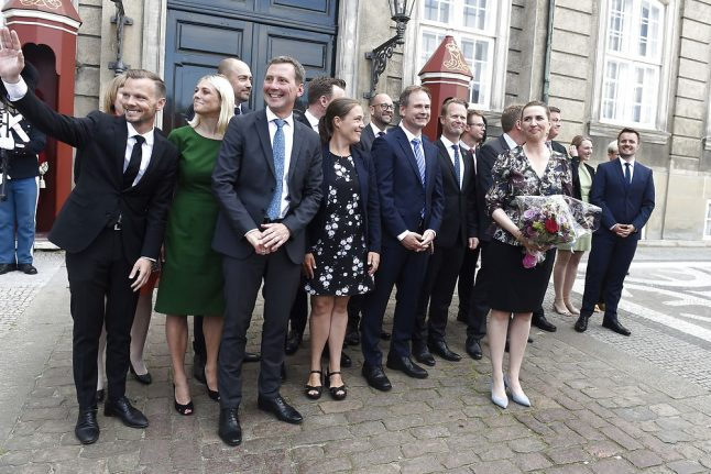 Here is Denmark's new Social Democrat government