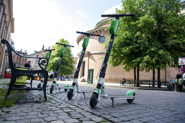 Copenhagen to limit number of rental electric scooters