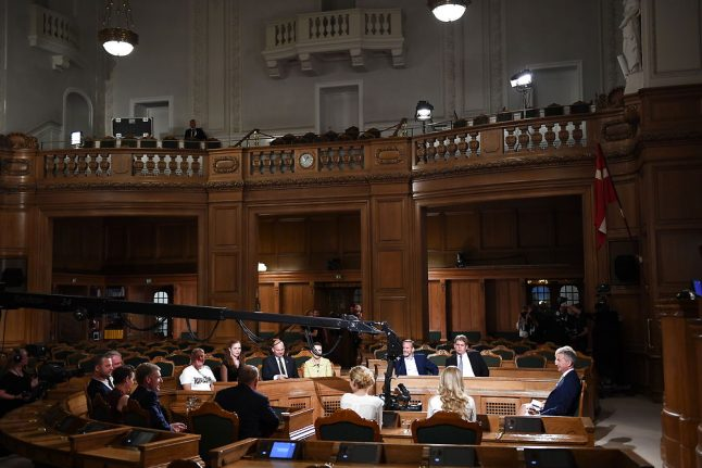 Danish politicians want expedited rule change to close loophole for new parties