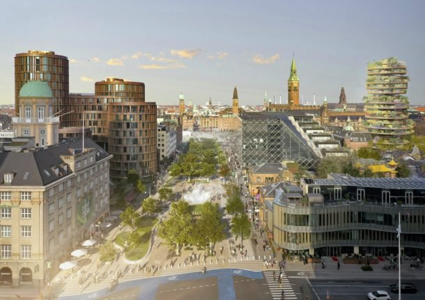 How Copenhagen could transform one of its busiest roads into a park
