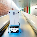 Robots put on scrubs and help out at Danish hospitals