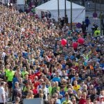 Danish running events take tentative steps towards cutting out plastic