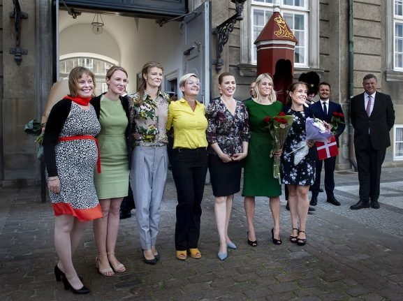 Denmark's youthful new government has almost twice as many male ministers as female