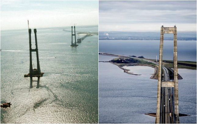 In photos: Denmark in the 1990s, and the same places today