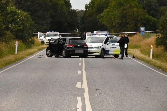 Danish police shoot driver in shoulder after dramatic car chase