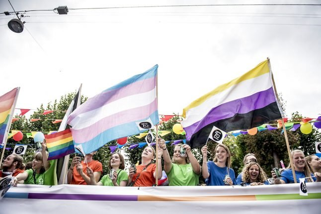 Denmark moves towards allowing official sex change for young transgender people