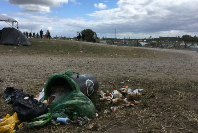 Denmark's Roskilde Festival creates a city's worth of rubbish. What are organizers and guests doing about it?