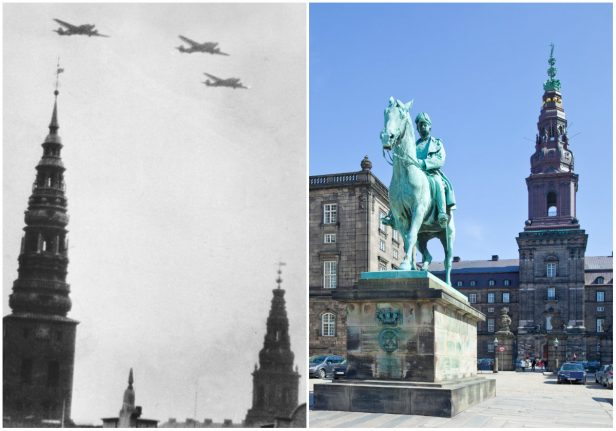 In pictures: Denmark during World War Two and today