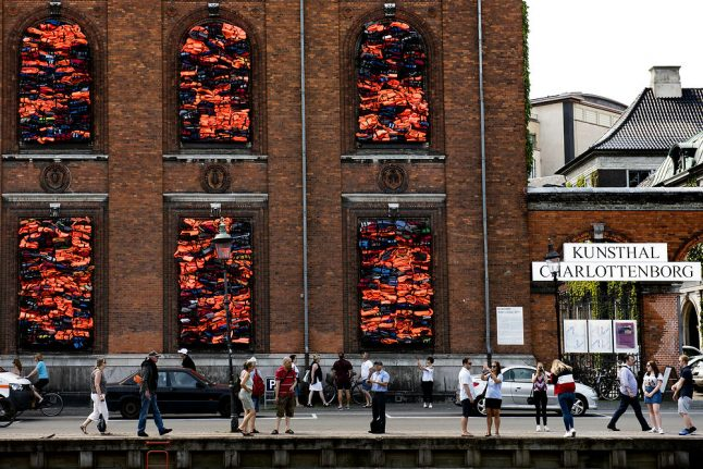 Denmark awards Ai Weiwei damages over use of Copenhagen installation in ad