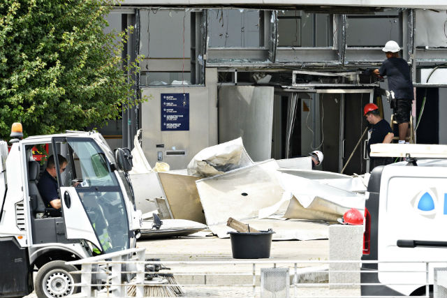 Commercial explosives used in Danish Tax Agency blast: Police