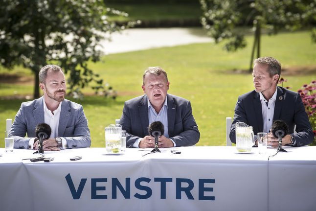 What is going on with Denmark's Liberal Party?