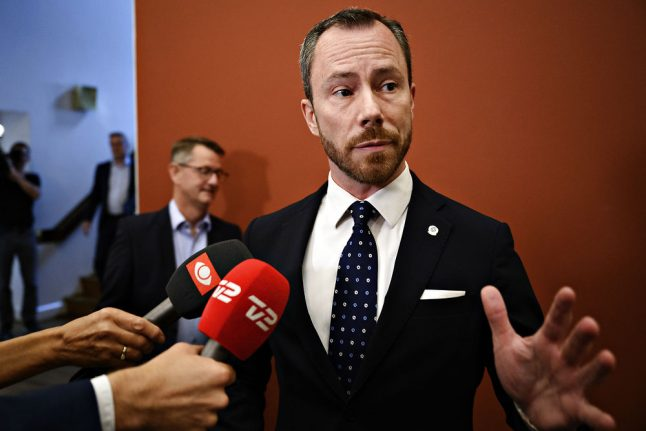 Ellemann-Jensen is likely new leader for Denmark's Liberals after confirming candidacy