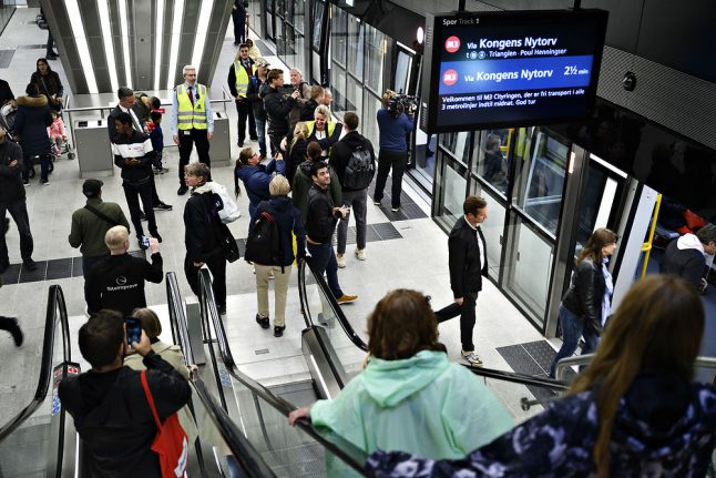 How to reach famous Copenhagen landmarks with the new City Ring Metro