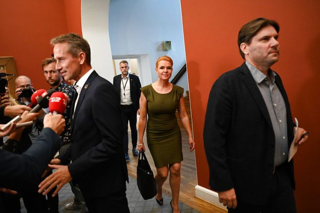 New Danish Liberal leader must be clear on relationship with rivals, MP says