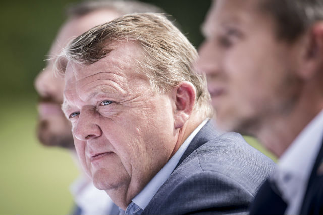 Former Danish PM steps down as Liberal Party leader